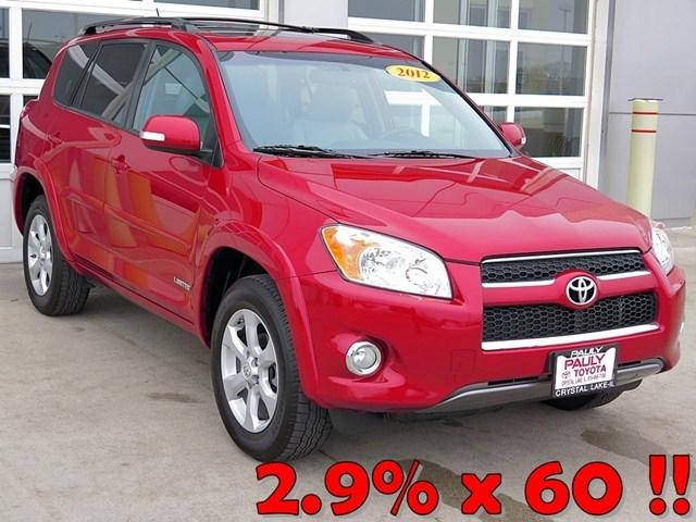 2012 Toyota RAV4 Limited SUV for sale in Crystal Lake for $23,989 with 31,060 miles.