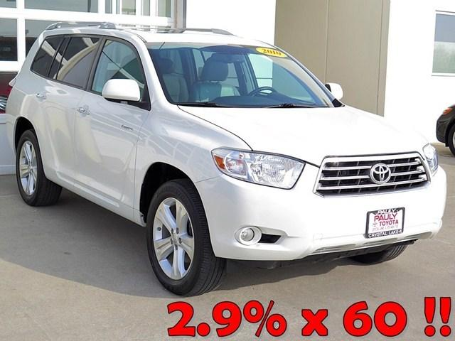 2010 Toyota Highlander SUV for sale in Crystal Lake for $27,989 with 37,875 miles