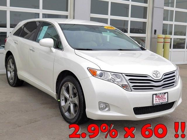 2010 Toyota Venza SUV for sale in Crystal Lake for $19,989 with 74,062 miles.