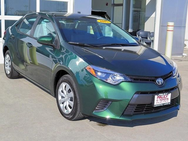 2015 Toyota Corolla Sedan for sale in Crystal Lake for $16,989 with 3,648 miles