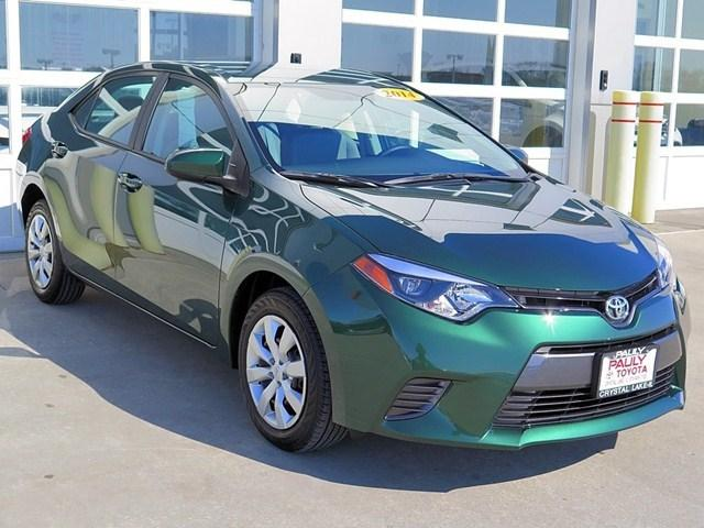 2015 Toyota Corolla Sedan for sale in Crystal Lake for $16,989 with 3,917 miles