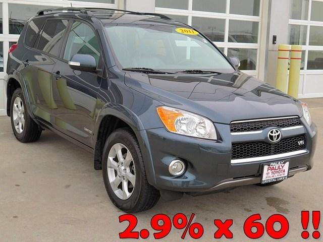 2011 Toyota RAV4 Limited SUV for sale in Crystal Lake for $22,995 with 33,414 miles