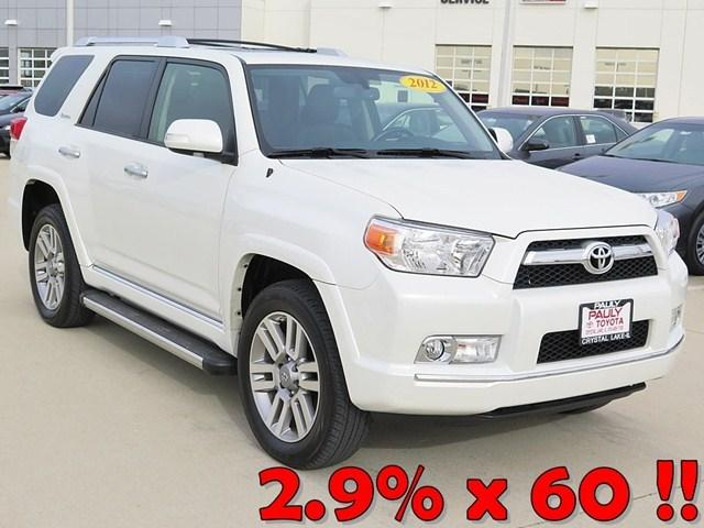 2012 Toyota 4Runner Limited SUV for sale in Crystal Lake for $33,989 with 49,700 miles.