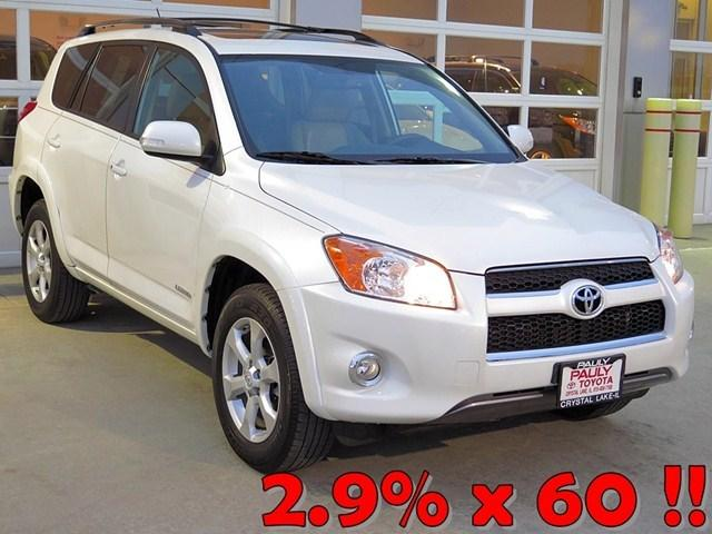 2012 Toyota RAV4 Limited SUV for sale in Crystal Lake for $25,465 with 48,521 miles