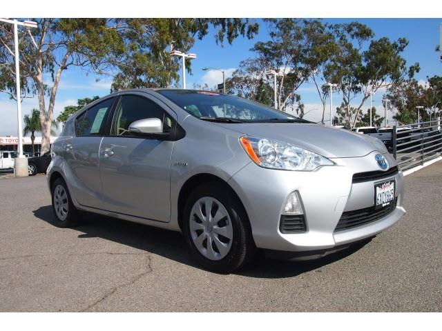 2012 Toyota Prius C Two Hatchback for sale in Corona for $17,999 with 52,243 miles.