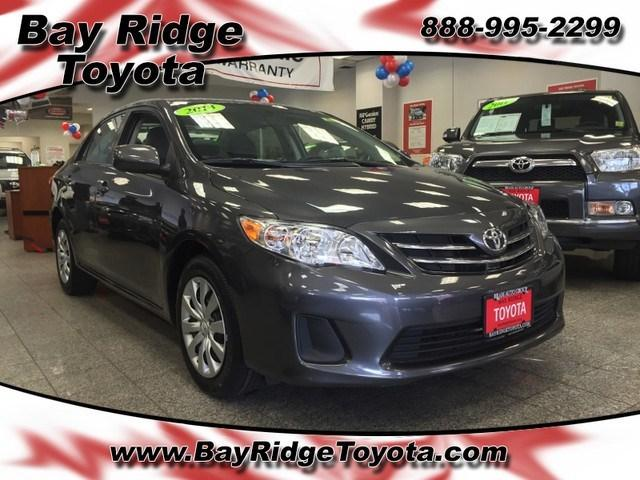 2013 Toyota Corolla LE Sedan for sale in Brooklyn for $14,999 with 39,700 miles.