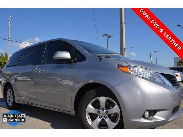2012 Toyota Sienna Base Minivan for sale in Homestead for $24,980 with 40,125 miles.