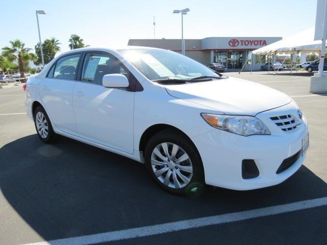 2013 Toyota Corolla LE Sedan for sale in Indio for $16,717 with 38,037 miles