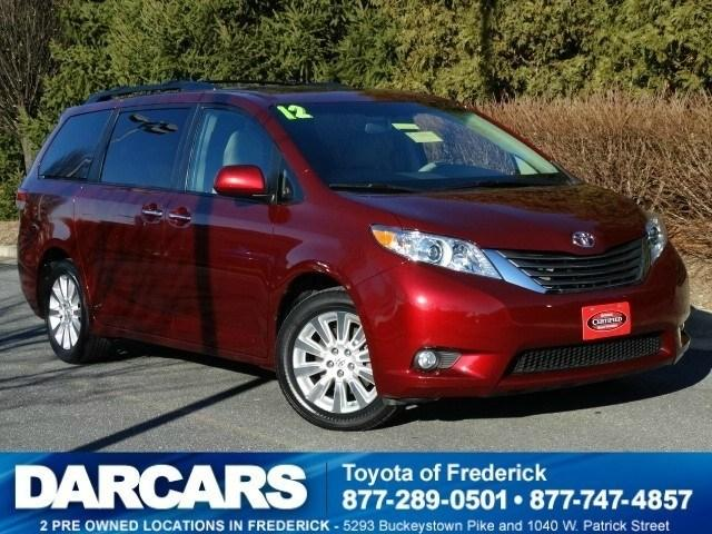 2012 Toyota Sienna Minivan for sale in Frederick for $29,988 with 30,625 miles.