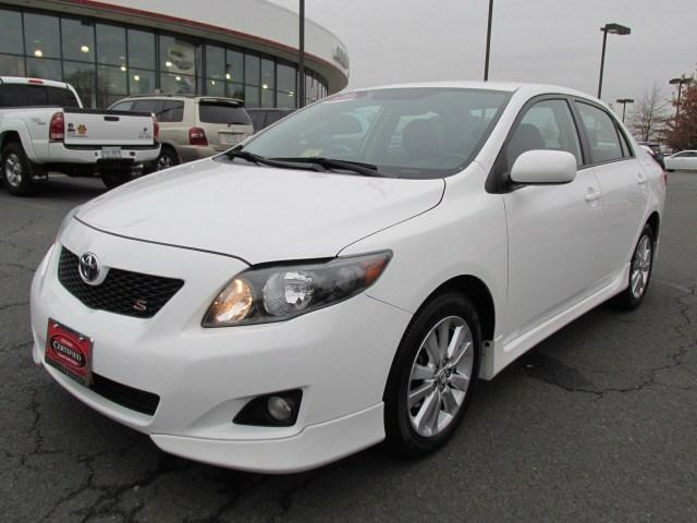 2009 Toyota Corolla S Sedan for sale in Chantilly for $9,995 with 81,618 miles.