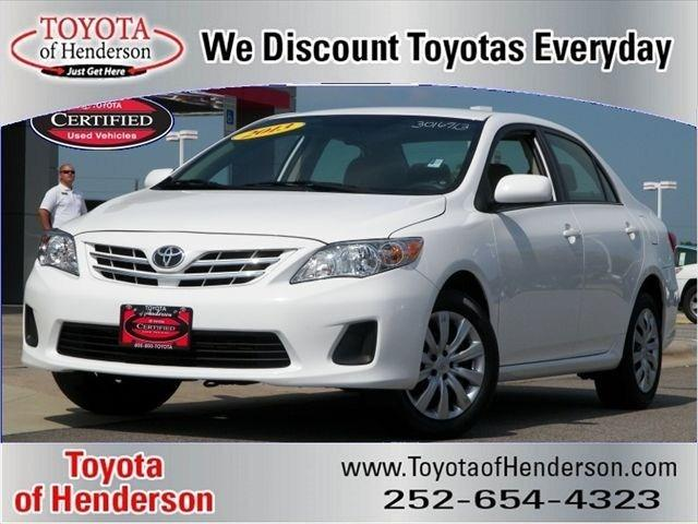 2013 Toyota Corolla LE Sedan for sale in Henderson for $15,981 with 30,347 miles.