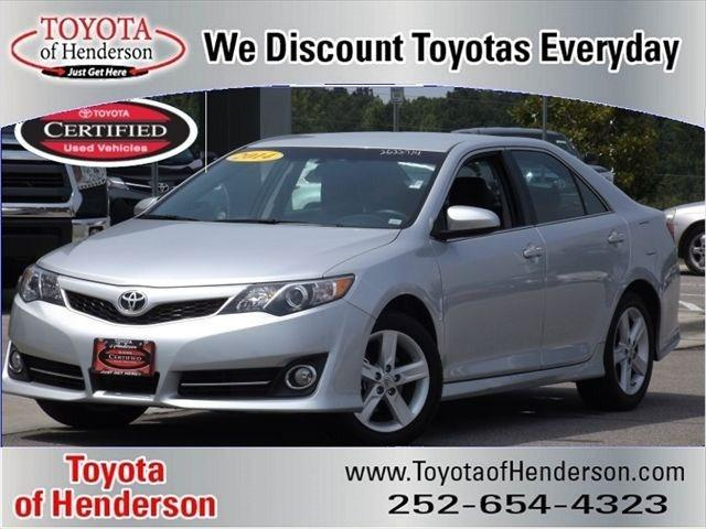 2014 Toyota Camry Sedan for sale in Henderson for $18,985 with 28,405 miles.