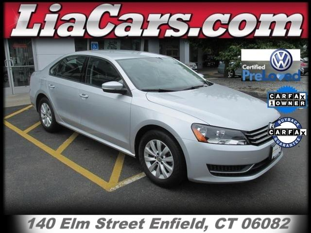 2013 Volkswagen Passat 2.5 S Sedan for sale in Enfield for $14,394 with 19,822 miles.