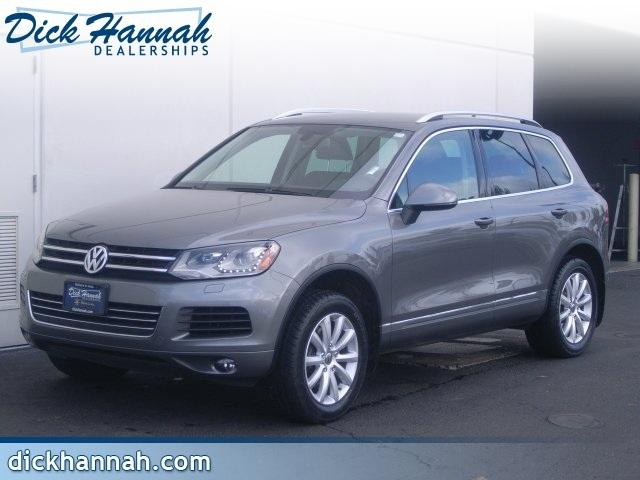 2012 Volkswagen Touareg SUV for sale in Vancouver for $26,900 with 46,203 miles.