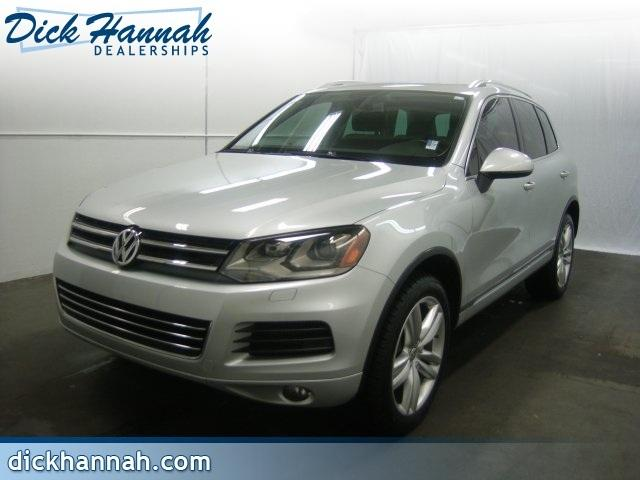 2012 Volkswagen Touareg SUV for sale in Vancouver for $41,800 with 31,254 miles.
