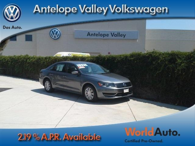 2014 Volkswagen Passat Sedan for sale in Palmdale for $15,350 with 28,719 miles.