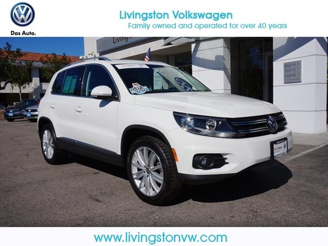 2012 Volkswagen Tiguan SE SUV for sale in Los Angeles for $21,435 with 37,071 miles