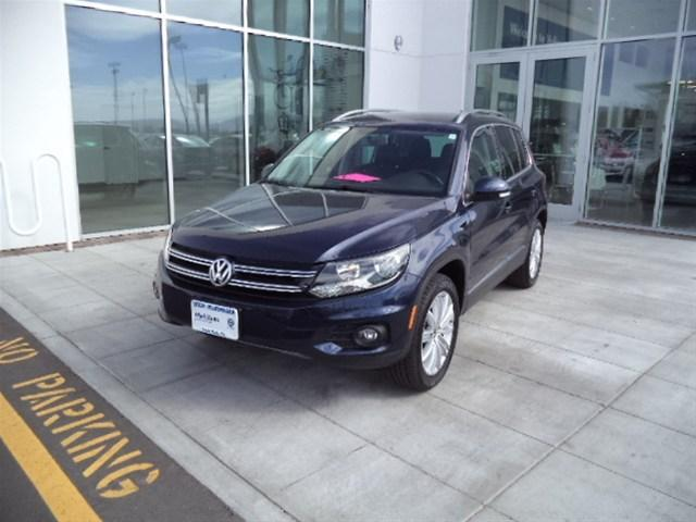 2014 Volkswagen Tiguan SE SUV for sale in Idaho Falls for $27,995 with 9,690 miles