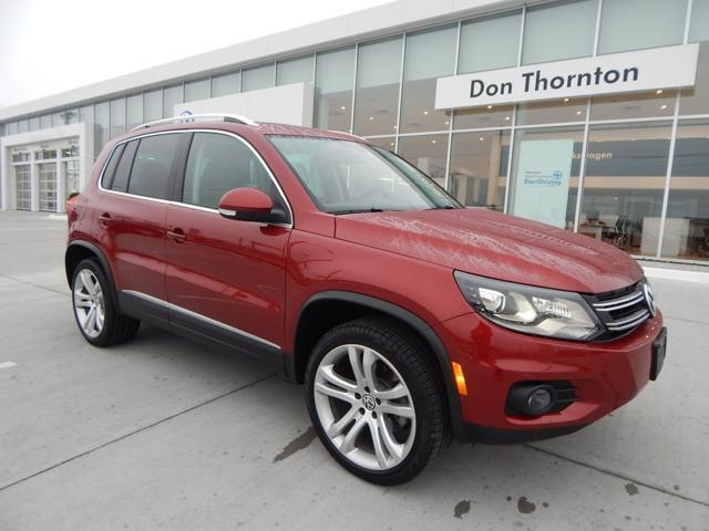 2013 Volkswagen Tiguan SEL SUV for sale in Tulsa for $26,950 with 22,026 miles