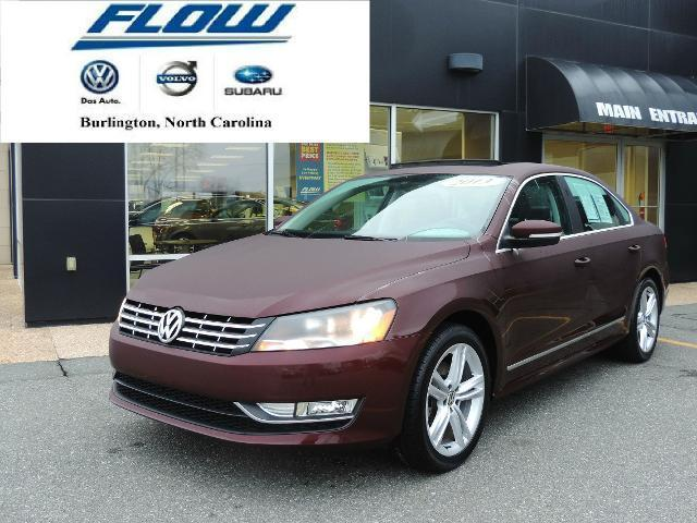 2013 Volkswagen Passat 3.6 SEL Premium Sedan for sale in Burlington for $22,393 with 29,109 miles