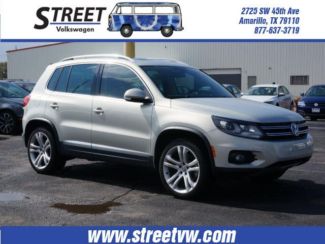 2013 Volkswagen Tiguan SE SUV for sale in Amarillo for $29,000 with 8,009 miles.