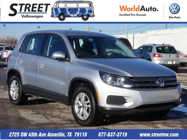 2012 Volkswagen Tiguan SE SUV for sale in Amarillo for $18,495 with 15,764 miles.
