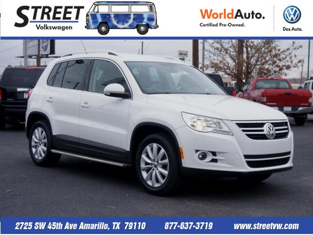 2011 Volkswagen Tiguan SE SUV for sale in Amarillo for $18,495 with 40,734 miles.