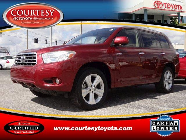 2008 Toyota Highlander Limited SUV for sale in Tampa for $27,901 with 49,061 miles