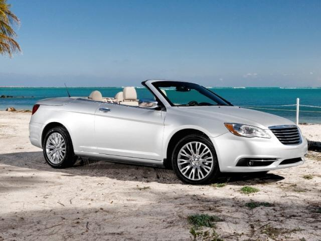 2012 Chrysler 200 Limited Convertible for sale in London for $22,995 with 28,398 miles.