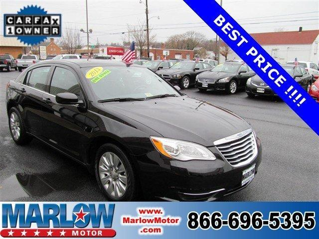 2013 Chrysler 200 LX Sedan for sale in Front Royal for $15,977 with 34,199 miles.