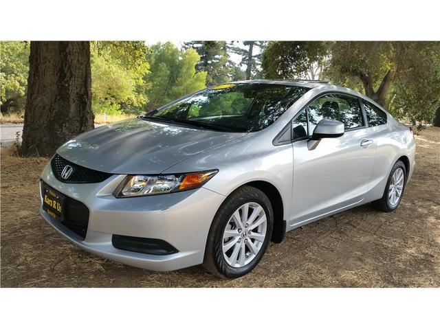 2012 Honda Civic EX Coupe for sale in Modesto for $16,999 with 21,236 miles