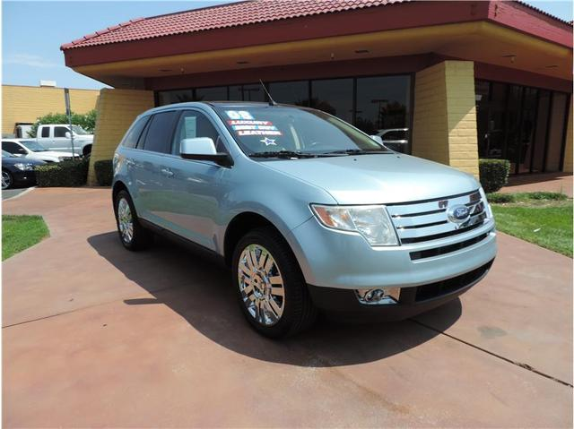 2008 Ford Edge Limited SUV for sale in Stockton for $16,999 with 90,998 miles.