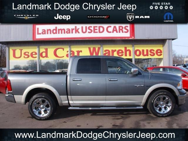 2010 Dodge Ram 1500 Laramie Crew Cab Pickup for sale in Independence for $32,988 with 36,647 miles