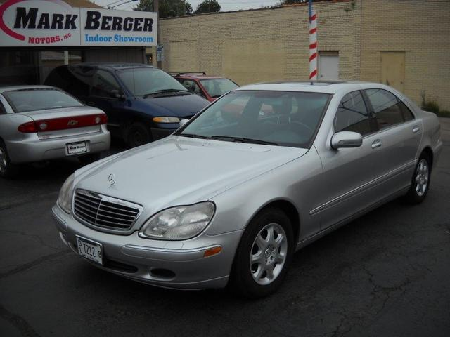 2002 Mercedes-Benz S-Class Sedan for sale in Rockford for $10,400 with 131,107 miles.