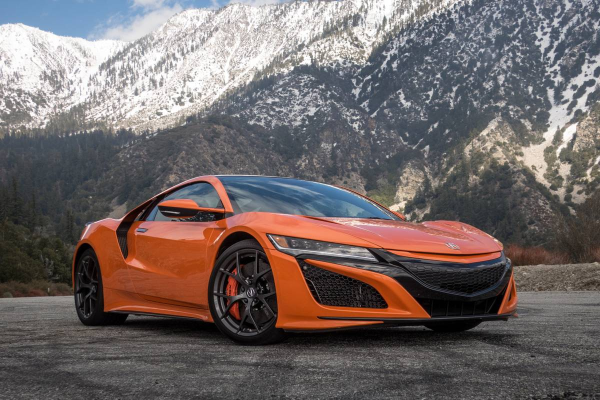 2019 Acura Nsx Specs Price Mpg Reviews Cars Com