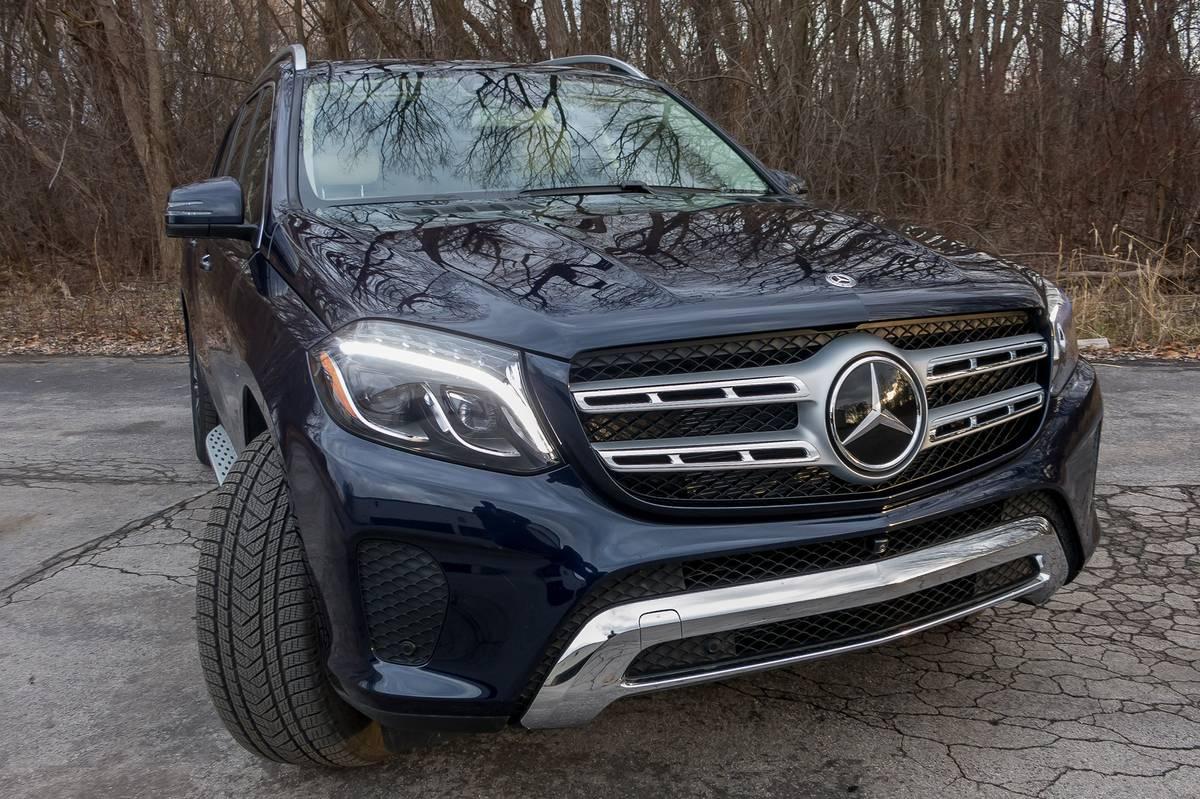 2019 Mercedes Benz Gls 450 Specs Price Mpg Reviews Cars Com