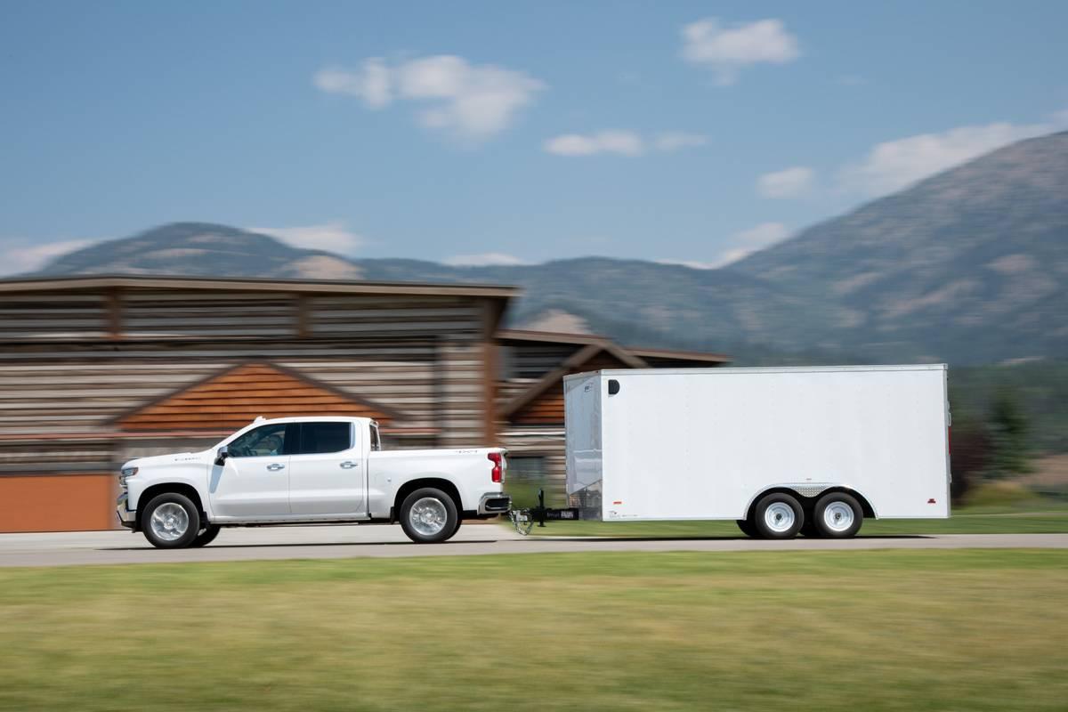 Chevrolet Silverado 1500 High Country Towing