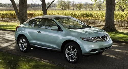 2011 Nissan Murano CrossCabriolet: First Look