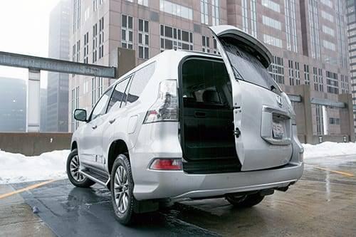 2014 Lexus Gx 460 Real World Cargo Space News Cars Com