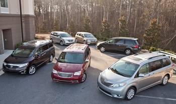 Cars.com's Ultimate Minivan Shootout