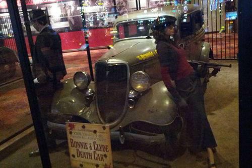 Clyde bonnie auto und Bonnie &