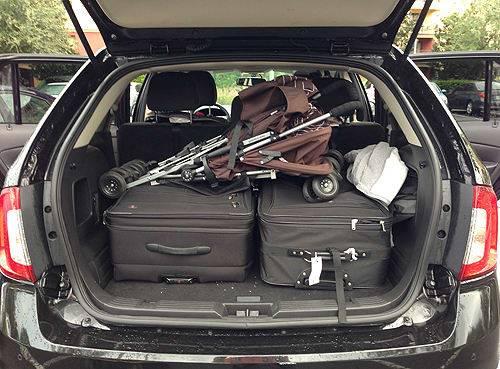Rental Car Review 2012 Ford Edge News Cars Com