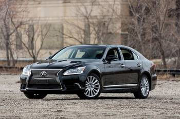2013-16 Lexus LS 460 Brake Issue