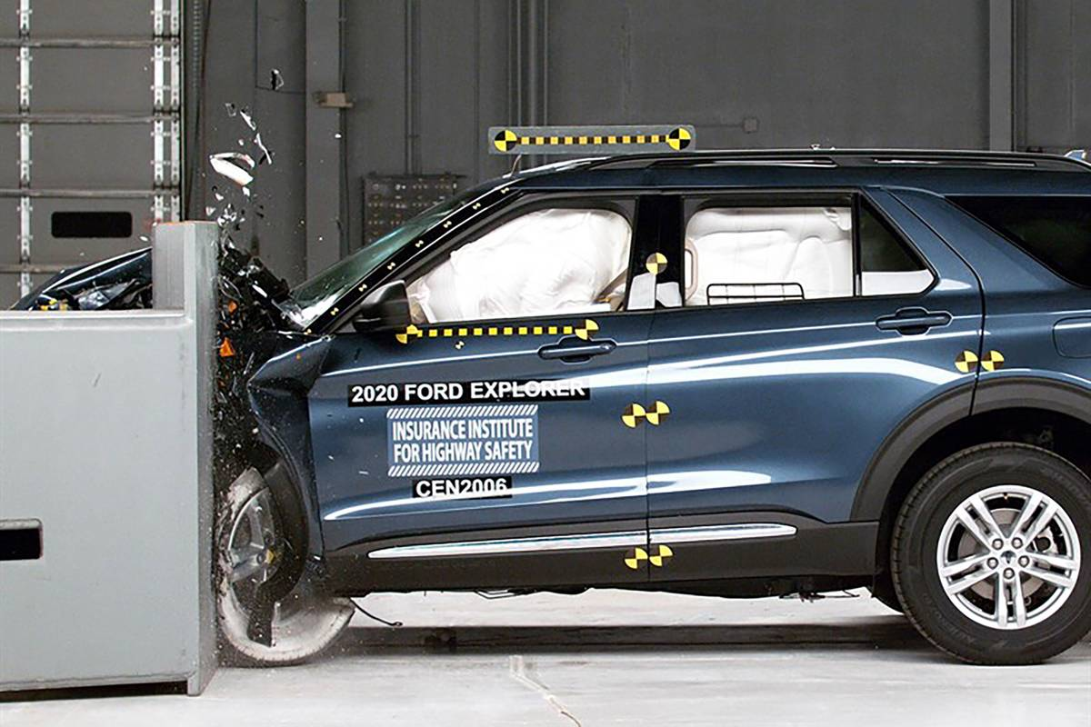 2020 Ford Explorer, Lincoln Aviator Try Again and Succeed in Safety Ratings | News from Cars.com