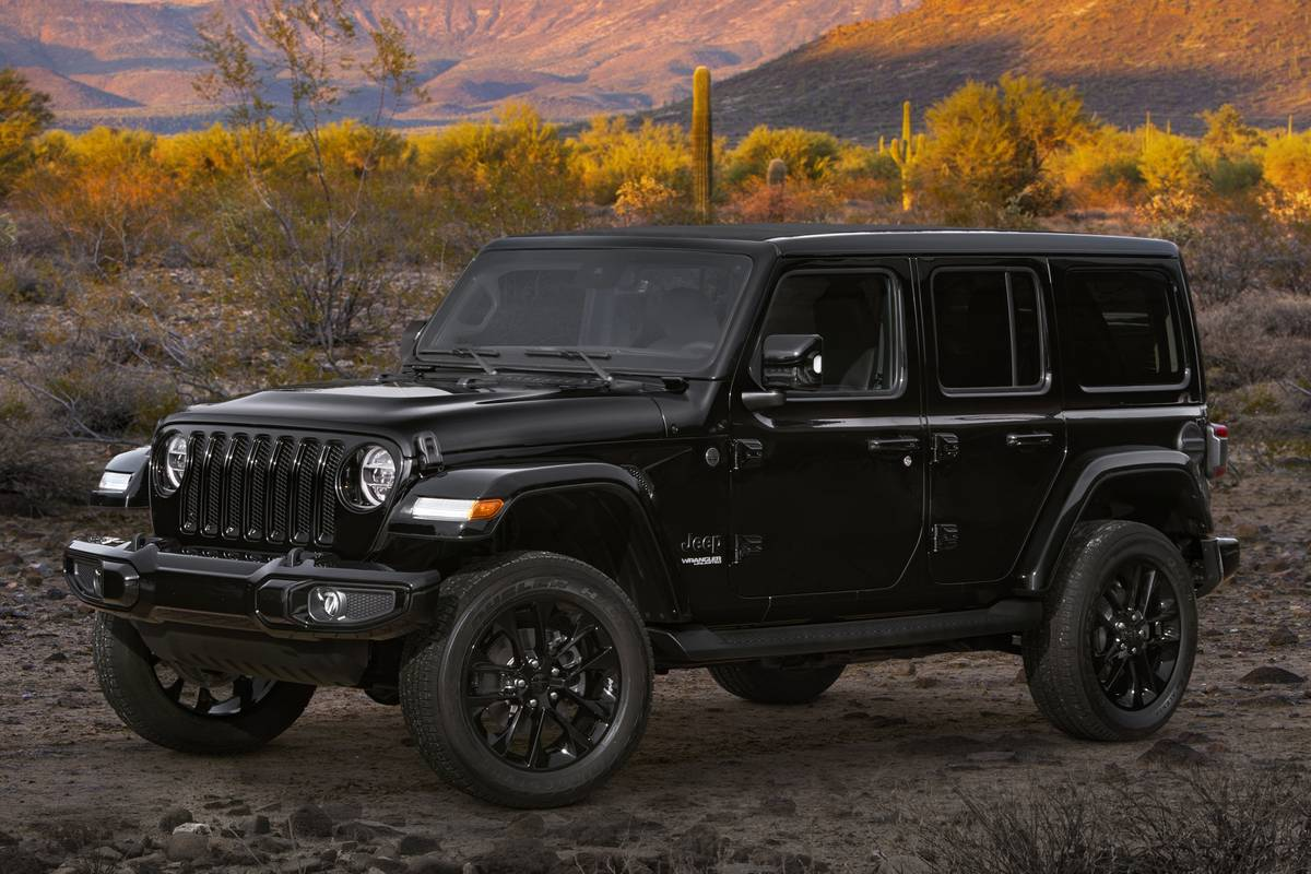 2020 jeep wrangler, gladiator high altitude: from off-road