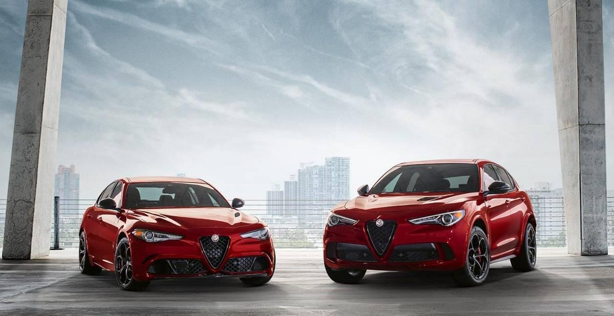 2019 Alfa Romeo Giulia and 2019 Alfa Romeo Stelvio