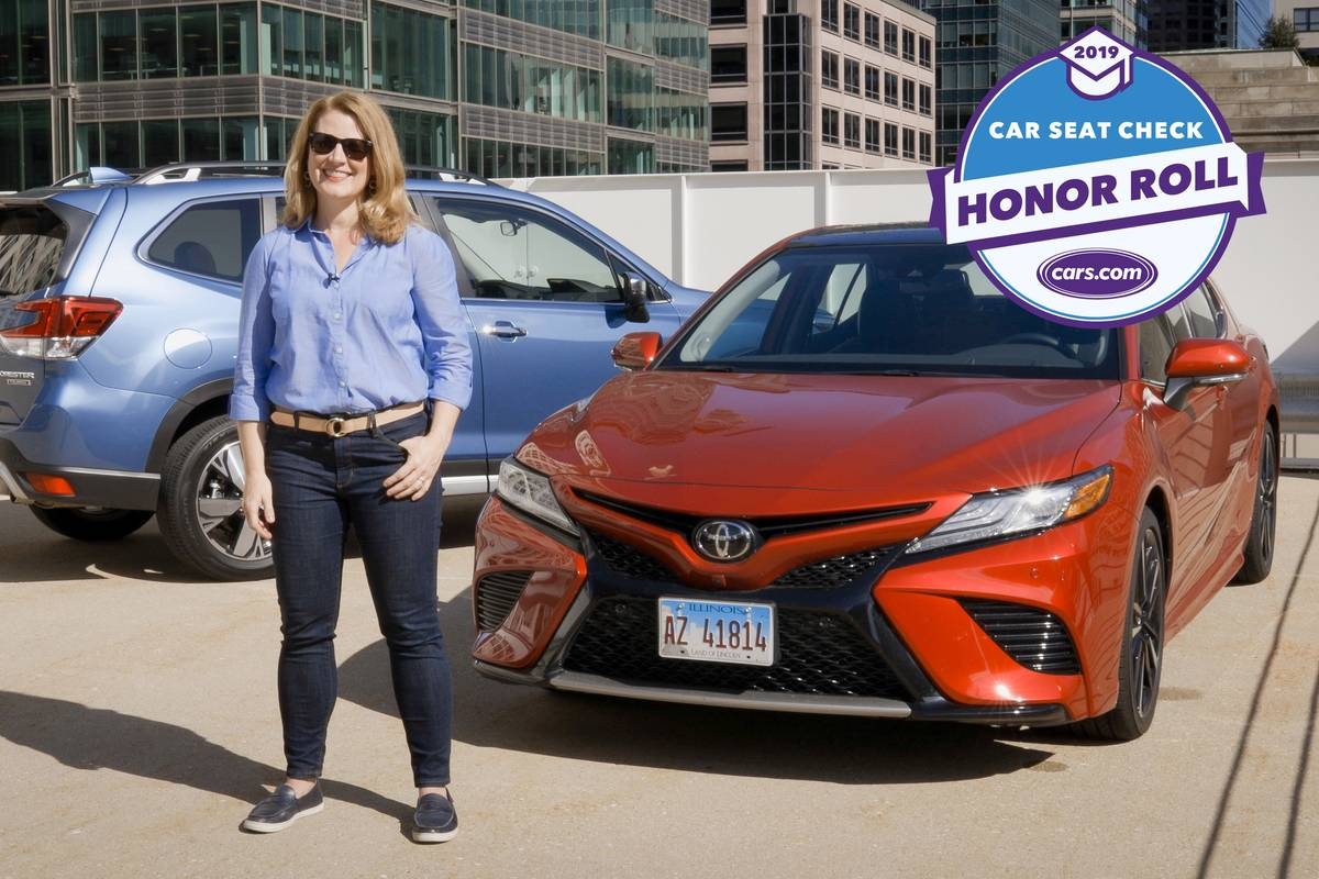 Cars.com's 2019 Car Seat Check Honor Roll: Which Cars Fit Car Seats Best?