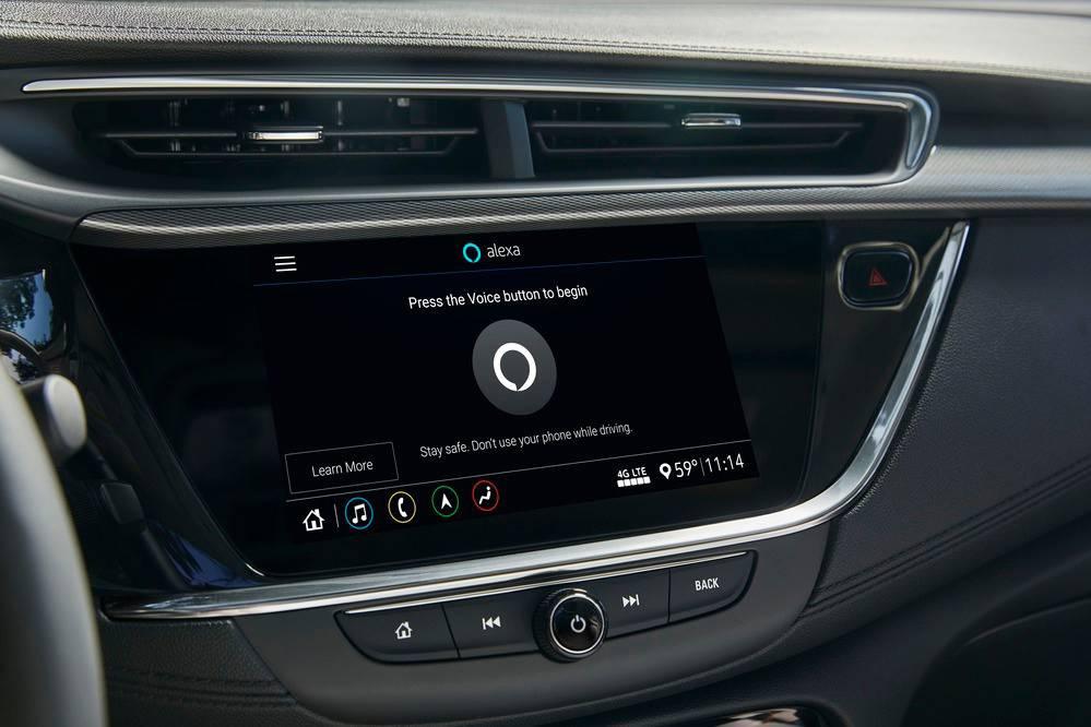 2020 Buick Encore GX - Amazon Alexa(1)