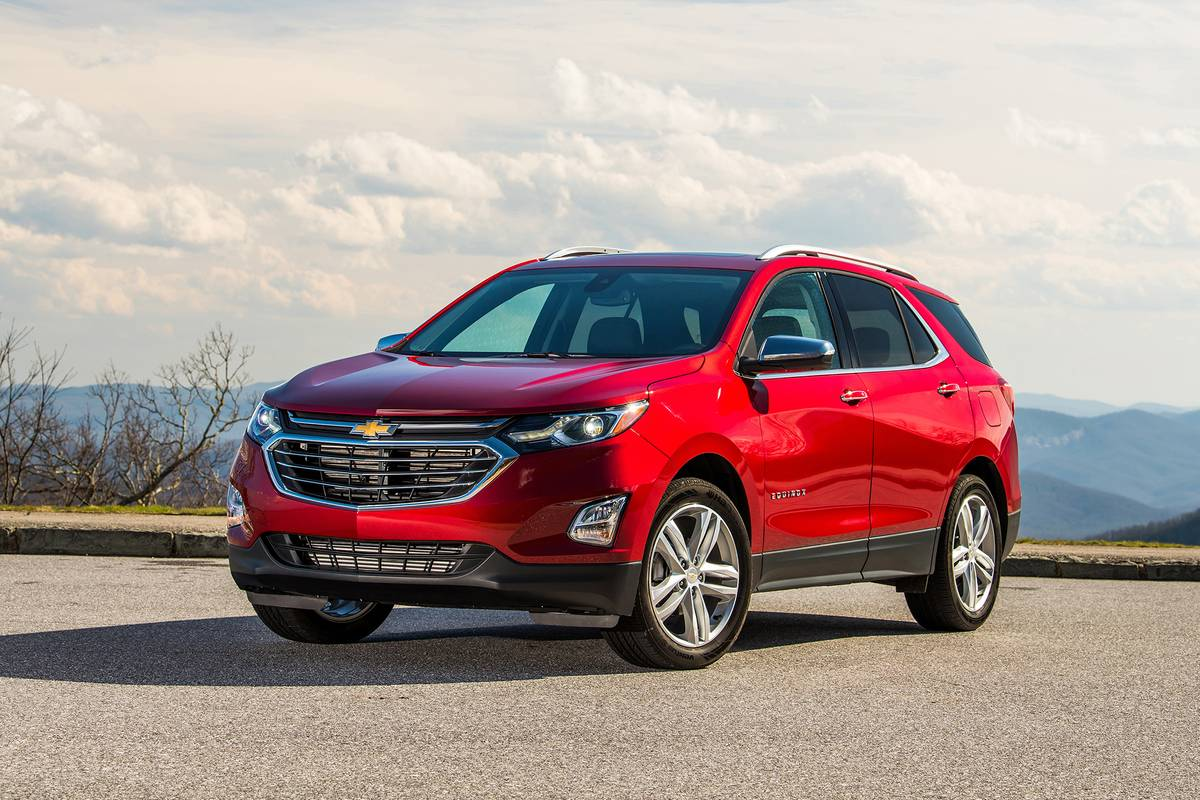 Red 2020 Chevrolet Equinox