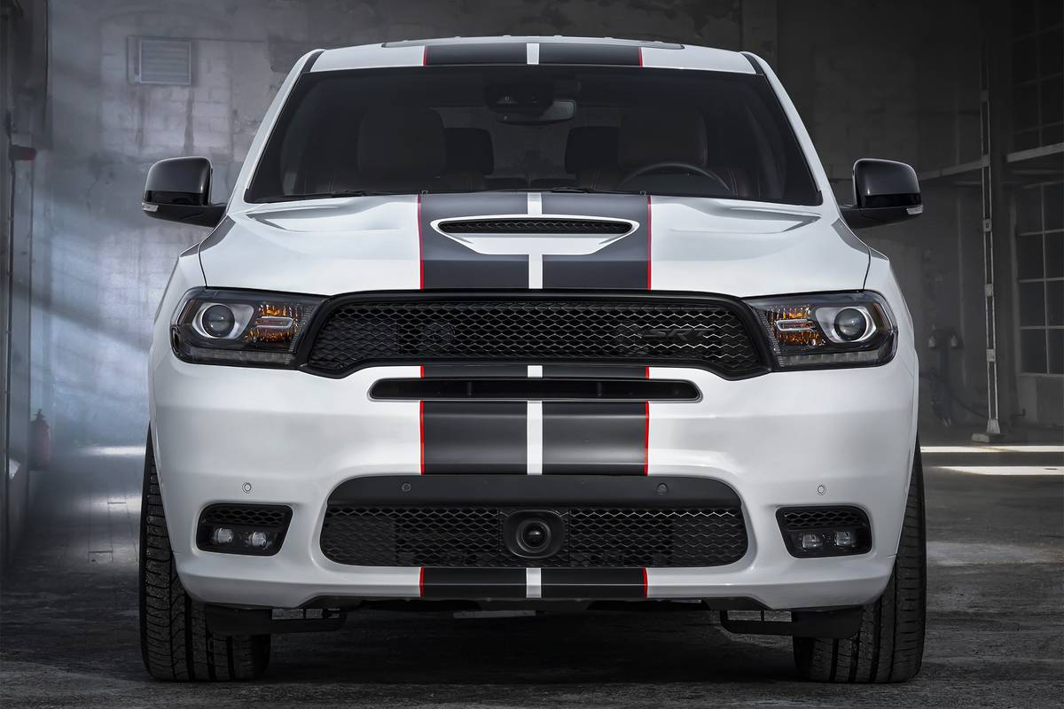 Exclusively available on Durango SRT, the Redline stripe is a fu